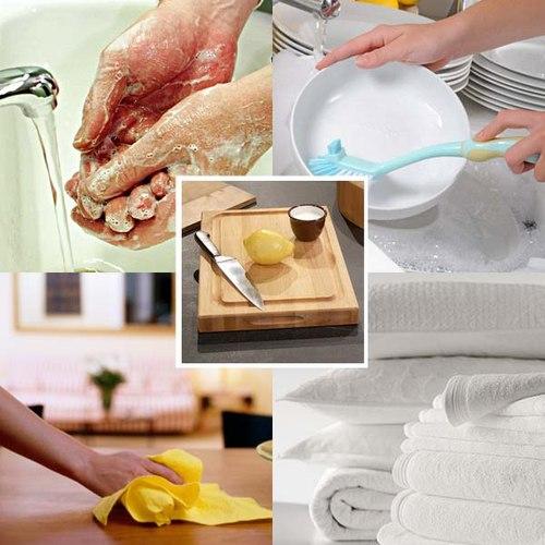 Những mẹo vặt tẩy rửa trong nhà đơn giản và hiệu quả