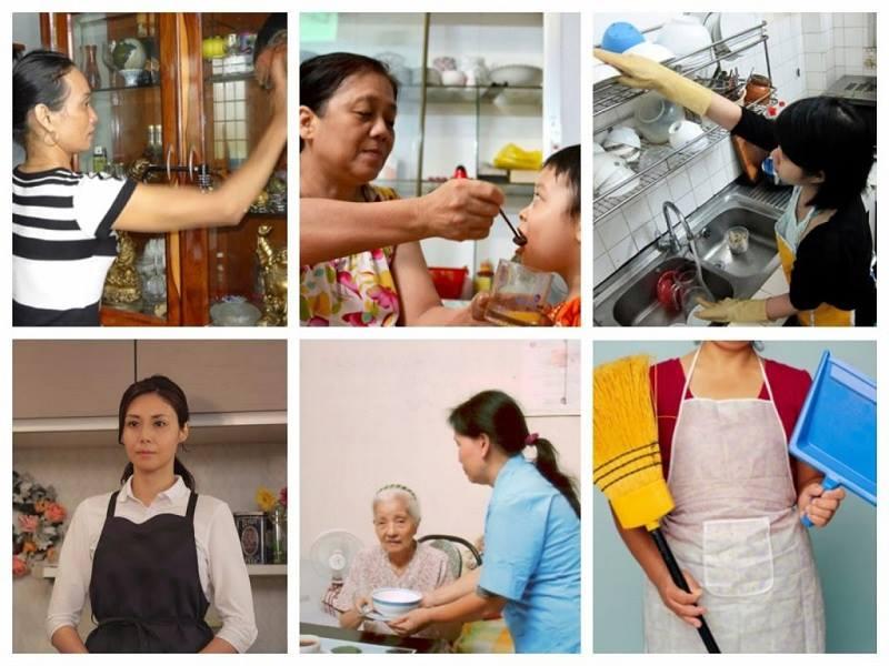 Ưu và nhược điểm khi thuê người giúp việc già.