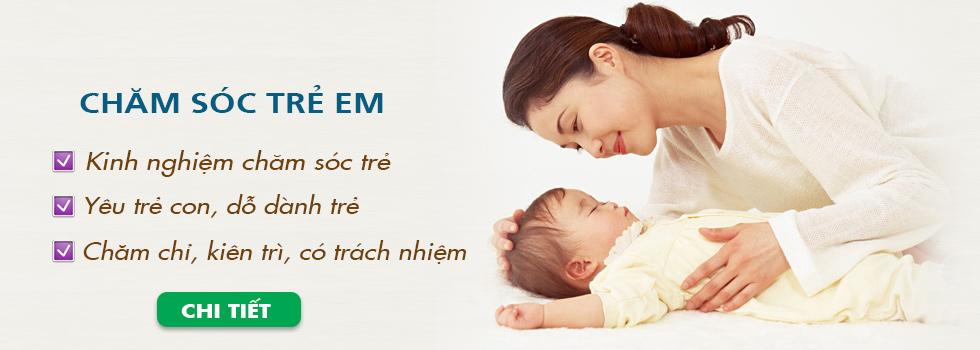 Dịch vụ chăm sóc trẻ em tại nhà