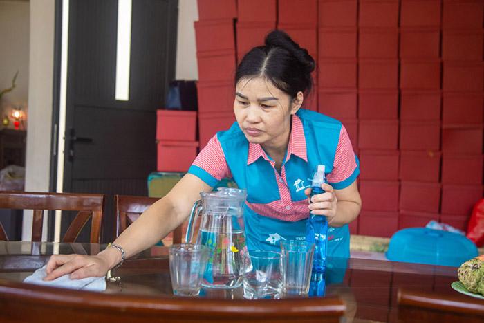 Nhân viên giúp việc tại Trung tâm giúp việc Hồng Doan phải đáp ứng đầy đủ các tiêu chuẩn của trung tâm