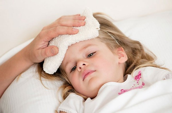 Nguyên nhân trẻ bị sốt