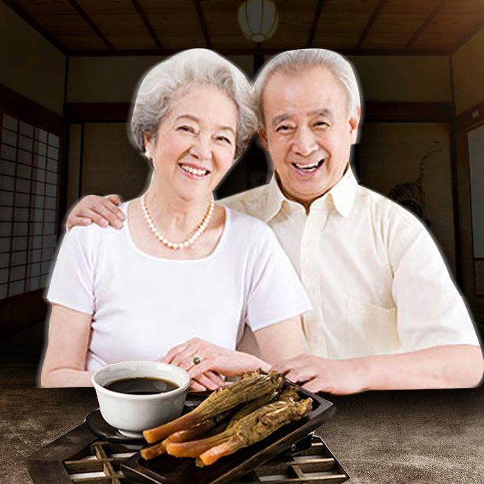 Các sản phẩm từ sâm luôn là vị thuốc quý của người già