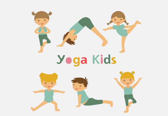 Tổng hợp một số động tác yoga cho trẻ