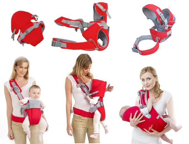 Hướng dẫn cách sử dụng địu em bé an toàn