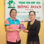 Giúp việc Hồng Doan đăng ký bảo hiểm thân thể cho người giúp việc