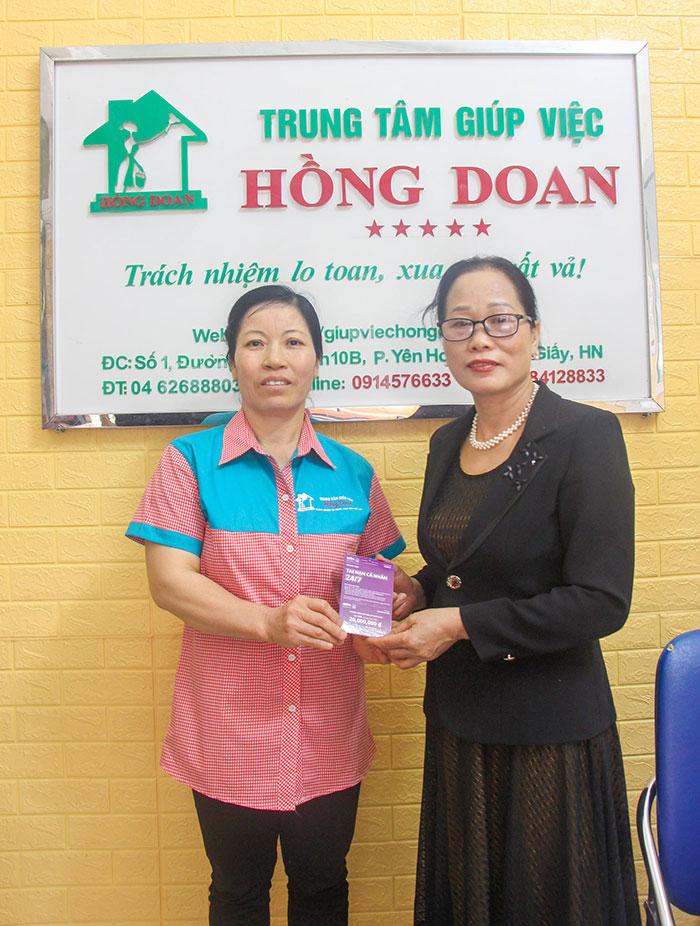 Giúp việc Hồng Doan luôn đảm bảo quyền lợi tuyệt đối cho khách hàng