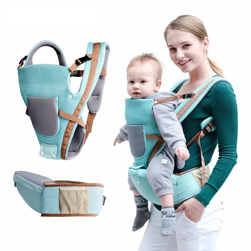 Tác dụng của việc sử dụng địu em bé mẹ bỉm nên biết