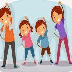Tập thể dục cho bé ổn định sức khỏe, phát triển toàn diện