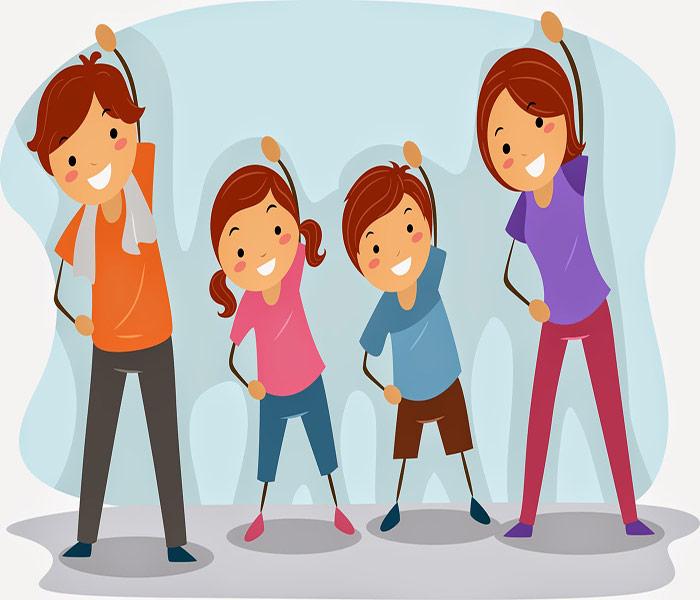 Tập thể dực giúp trẻ tự tin trong giao tiếp, tăng khả năng nhạy bén