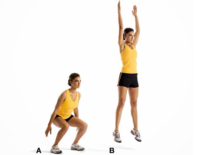 Bài tập nhảy thúc đẩy chiều cao của trẻ