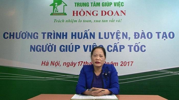Trung tâm giúp việc Hồng Doan - người bạn tin cậy của đông đảo khách hàng