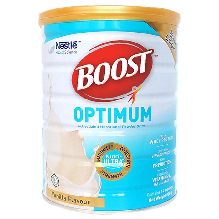 Sữa Boost Optimum giúp hồi phục thể trạng người bệnh tốt nhất