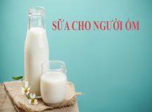 Các sản phẩm sữa cho người ốm